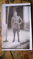 """Fotografia - Militari, Uniformi, Divise - """"Artigliere Volontario Universitario"""" - WWII? - Non Classificati"""