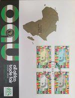 A) 1972 AFRICA, 1ST ALL AFRICA TRADE FAIR NAIROBI-KENYA, OAU, ORGANISATION OF AFRICAN UNITY, FLAGS, MAP, FDC. - Kenya (1963-...)