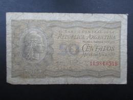 BILLET ARGENTINA (V1719) 50 CENTAVOS (2 Vues) - Bons & Nécessité