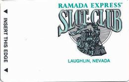 Ramada Express Casino - Laughlin, NV - BLANK Slot Card - Casino Cards