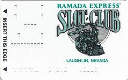 Ramada Express Casino - Laughlin NV - Slot Card - Casino Cards