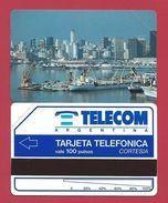 C2 100 U Buenos Aires Harbour CORTESIA Telecom Argentina - 3000 Ex - 1992 - URMET Neuve Mint - Argentine