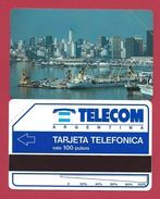 D2 100 U Buenos Aires Harbour Telecom Argentina - 1992 - URMET Neuve Mint - Argentina