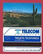 D5 100 U Desert Telecom Argentina - 1992 - URMET Neuve Mint - Argentine