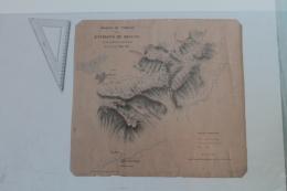 Croquis Du Terrain Des Environs De Keelung  Juin 1885 - Documents