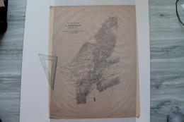 Plan D'Erzeroum ANATOLIE Campagne 1856 Capitaine Mircher Et Saget - Documents