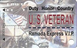 Ramada Express Casino - Laughlin, NV - Veterans Slot Card - Casino Cards