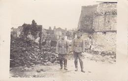AK Deutsche Soldaten Vor Ruinen  - 2. WK (34770) - Weltkrieg 1939-45