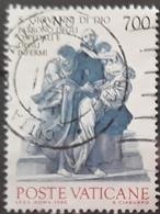 VATICANO 1986 The 100th Anniversary Of The Cannonnization Of John Of God And Camillo De Lellis. USADO - USED. - Vaticano (Ciudad Del)