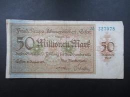 BILLET ALLEMAGNE (V1719) 50 MILLIONEN MARK (2 Vues) 31 Décembre 1923 - [ 3] 1918-1933: Weimarrepubliek