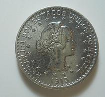 Brazil 1000 Reis 1913 A Silver - Brasil