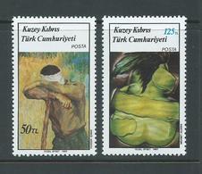 Turkish Cyprus 1987 Paintings Set 2 MNH - Cyprus (Turkey)