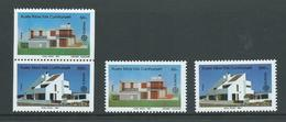 Turkish Cyprus 1987 Architecture Joined Pair Ex Booklet + Both Singles MNH - Unused Stamps