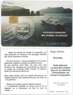 """TAAF - TF-STA-0041, Carnet De Voyage """"Paysages Insolites Des Terres Australes"""", 7/08, 1500ex, Mint? - TAAF - French Southern And Antarctic Lands"""