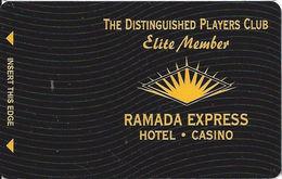 Ramada Express Casino - Laughlin, NV - BLANK Elite Member Slot Card - Casino Cards