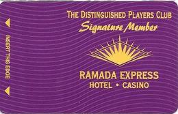 Ramada Express Casino - Laughlin, NV - BLANK Signature Member Slot Card - Casino Cards