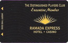 Ramada Express Casino - Laughlin, NV - BLANK Executive Member Slot Card - Casino Cards