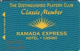 Ramada Express Casino - Laughlin, NV - Classic Member Cash Express Slot Card - Casino Cards