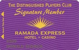 Ramada Express Casino - Laughlin, NV - Signature Member Cash Express Slot Card - Casino Cards