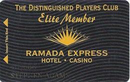 Ramada Express Casino - Laughlin, NV - Elite Member Cash Express Slot Card - Casino Cards