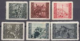 ISTRIA - 1945/1946 - Lotto 6 Valori Nuovi (MH, MNH, Senza Gomma): Yvert 27, 28, 29, 31, 32 E 35. - Joegoslavische Bez.: Istrië