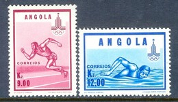 F151- Angola Olympics Olympic Games Moscow 1980. - Olympic Games
