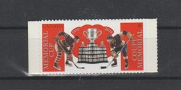 2018 Canada Memorial Cup Hockey Single Stamp From Booklet MNH - Carnets