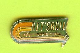 Pin's Mac Do McDonald's Let's Roll Drive Thru - 4L18 - McDonald's