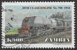 Zambia SG788 1999 Trains 900k Good/fine Used [37/30787/2D] - Zambia (1965-...)