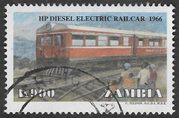 Zambia SG789 1999 Trains 900k Good/fine Used [37/30788/2D] - Zambia (1965-...)
