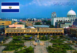 EL SALVADOR, SAN SALVADOR  , VISTA PARCIAL  [45403] - El Salvador