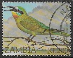 Zambia SG888 2002 Birds Of Zambia 1200k Good/fine Used [37/30790/2D] - Zambia (1965-...)