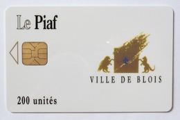 FRANCE - Le Piaf - 41000-4 - Ville De Blois - Orga 3 Chip - 200 Units - 11/01 - 1000ex - Mint - France