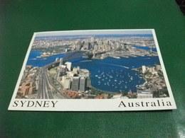 SYDNEY PONTE VISTA AEREA LAVENDER BAY  FRANCOBOLLO COMMEMORATIVO FARFALLA BUTTERFLY AUSTRALIA - Sydney