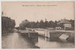 CPA 35 BRUZ Blossac Cale Et Ecluse De Mons - Autres Communes