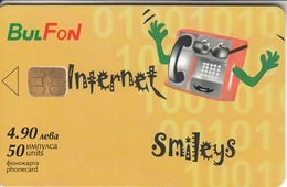 BULGARIA - Internet Smilies 2, 01/02, Tirage 25,000, 50 U, Sample No CN - Bulgaria