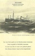 PAQUEBOT Brésilien - Le MANDU - Steamers