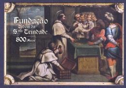 1.- PORTUGAL 2018 POSTAL STATIONERY 800 YEARS  FOUNDATION  ORDER HOLY TRINITY - Christianisme