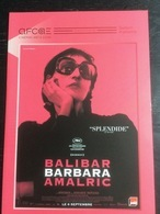 Plaquette 4 Pages : Barbara (Amalric-Balibar) - Merchandising