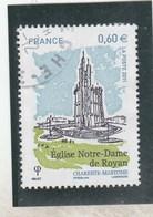 FRANCE 2011 EGLISE NOTRE DAME DE ROYAN  YT 4613-  OBLITERE  ----           TDA268 - France