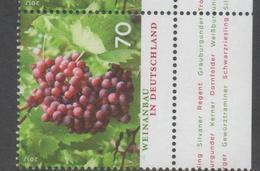GERMANY, 2017, MNH, WINE, GRAPES, 1v - Fruit