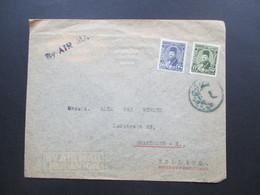 Ägypten Ca. 1930er Jahre Air Mail / Luftpost Nach Holland. Henry Brandes Alexandria - Ägypten