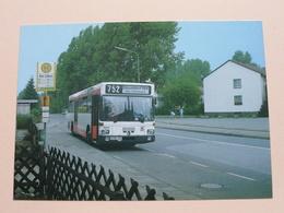Rheinbahnbusse - BUS 7011 - Typ SL 202 / 1985 (Fotokarte) Anno 1986 ( Zie Foto's ) ! - Bus & Autocars