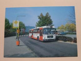 Rheinbahnbusse - BUS 7120 - Typ SL 200 / 1981 (Fotokarte) Anno 1986 ( Zie Foto's ) ! - Bus & Autocars
