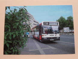 Rheinbahnbusse - BUS 6718 - Typ O 405 / 1986 (Fotokarte) Anno 1986 ( Zie Foto's ) ! - Bus & Autocars