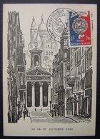 1951 Carte Maximum Exposition Du Bimillénaire Paris  Mairie Du IXeme Arrondissement (n°906 ) - Maximum Cards