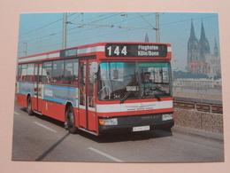 Linienomnibusse Der KVB (Serie V) Typ Neoplan N 416/SL II - 1983 / Anno 19?? ( Zie Foto's ) ! - Bus & Autocars