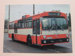 Linienomnibusse Der KVB (Serie V) Typ DAIMLER-BENZ O 305 - 1976 / Anno 19?? ( Zie Foto's ) ! - Bus & Autocars