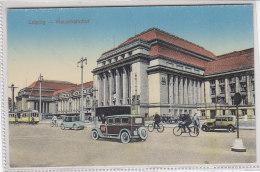 Leipzig - Hauptbahnhof - Um 1920 - Leipzig