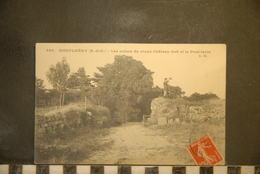 CP, 91,  MONTLHERY,  LES RUINES DU VIEUX CHATEAU FORT ET LE PONT LEVIS, 853 - Montlhery